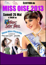 Election officielle miss oise 2013