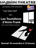 Les tourbillons d'anne franck Paris