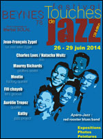 Festival touches de jazz 2014 Paris