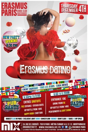 Erasmus Dating Poster