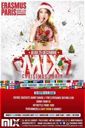 Mix Christmas Party Poster