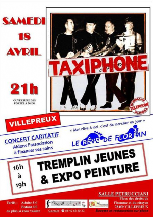 TAXIPHONE (TRIBUTE TELEPHONE) en concert ! Poster