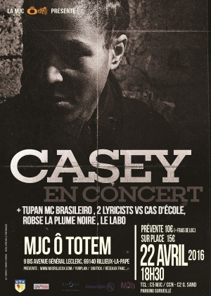 CASEY   Guest Poster